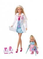 Кукла Simba Штеффи-врач и Эви на костылях 10 5730934