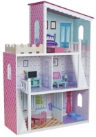 Деревянный кукольный домик Oliwka Wooden Toys