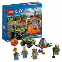Lego City Исследователи Вулканов Набор для начинающих 60120