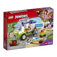 Lego Juniors 10749 Фургончик по продаже натуральных продуктов
