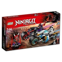 Lego Ninjago 70639 Уличная погоня
