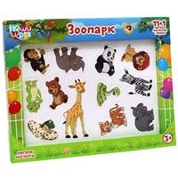 Магнитная развивающая игра Зоопарк