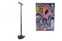 Музыкальная игрушка Simba Микрофон на стойке Диско 10 6834100