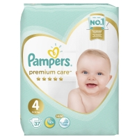 Подгузники Pampers Premium Care 4 Maxi (9-14 кг) 37 шт