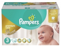 Подгузники Pampers Premium Care 3 Midi (5-9 кг), 120 шт