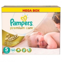 Подгузники Pampers Premium Care 5 Junior (11-18кг), 88 шт