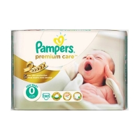 Подгузники Pampers Premium Care 0 Newborn 30 шт