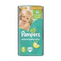 Подгузники Pampers Active Baby-Dry Junior 5 (11-18 кг), 64 шт