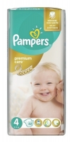 Подгузники Pampers Premium Care 4 Maxi (8-14 кг), 52 шт