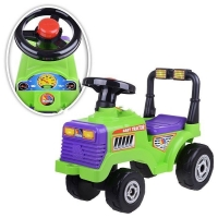 Каталка-трактор Митя с гудком Полесье арт 7956