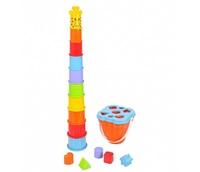 Детская игрушка PlayGo Центр творчества Жираф пирамидка 2388