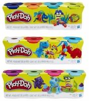 Play-Doh Набор пластилина для лепки 4 баночки B5517