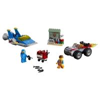 Лего 70821 Мастерская Строим и чиним Эммета и Бенни Lego Movie