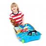 Trunki детский чемодан на колесиках Голубой 0054