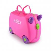 Trunki детский чемодан на колесиках Розовый 0061