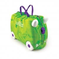 Trunki детский чемодан на колесиках Динозавр 0066