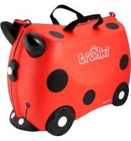 Trunki детский чемодан на колесиках Божья коровка 0092