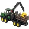 Bruder Трактор John Deere с прицепом и брёвнами 02133 Брудер