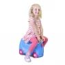 Trunki детский чемодан на колесиках Жемчужная карета принцессы 0259