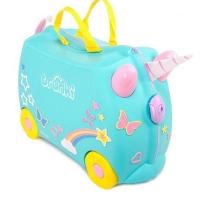 Trunki детский чемодан на колесиках Единорог Уна 0287
