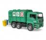 Мусоровоз Bruder Man Tga Зелёный 02753