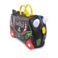Trunki детский чемодан на колесиках Педро Пират 0312
