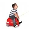 Trunki детский чемодан на колесиках Гоночная машинка Рокко 0321