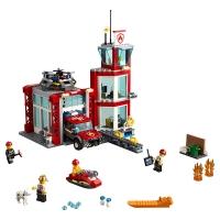 Лего 60215 Пожарное депо Lego City