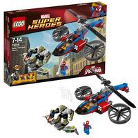 Лего Супер Герои Спасательный вертолёт Человека-паука Lego 76016