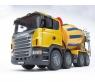 Бетономешалка Bruder Scania 03554