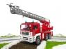 Пожарная машина Bruder MAN с лестницей и помпой 02771