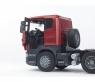 Тягач Bruder Scania с бульдозером CAT 03555