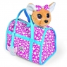 Собачка Chi Chi Love Звёздный стиль с сумочкой, 20 см