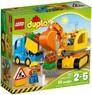 Lego 10812 Грузовик и гусеничный экскаватор