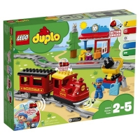 Lego 10874 Поезд на паровой тяге Лего Дупло