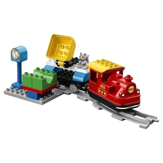 Лего дупло поезд на паровой тяге