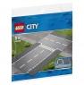 Лего 60236 Прямой и Т-образный перекресток Lego City
