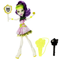 Кукла Monster High Спектра Вондергейст Монстры Спорта BJR13