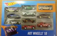 Машинки Hot Wheels Подарочный набор из 10 машинок арт. 54886