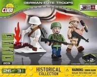 Фигурки немецких солдат Коби Cobi 2031