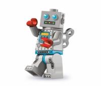 Минифигурка 6-й выпуск Робот с часовым механизмом