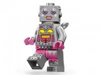 Минифигурка 11-й выпуск Леди робот