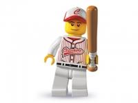 Минифигурка 3-й выпуск Бейсболист