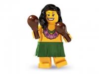 Минифигурка 3-й выпуск Гавайская танцовщица