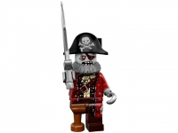Минифигурка 14-й выпуск-Пират-зомби