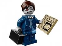 Минифигурка 14-й выпуск-Бизнесмен-зомби