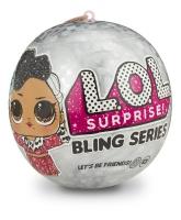 Кукла Лол Новогодняя серия Lol Bling Series 556237