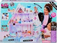 Лол Дом шале зимний кукольный домик Lol