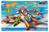 Трек Hot Wheels Авария крест накрест DTN42