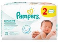 Детские влажные салфетки Pampers Sensitive, 112 шт